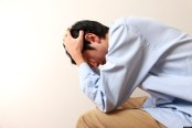 depressed man; Shutterstock ID 124674862; PO: aol; Job: production; Client: drone