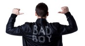 Bad boy portait striptease man in black jacket; Shutterstock ID 120245227; PO: The Huffington Post; Job: The Huffington Post; Client: The Huffington Post; Other: The Huffington Post